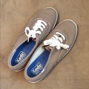 Women's Gray Keds Sneakers